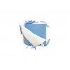 Mantinel do postýlky BABY-TEX 180cm hvězda modrá 2021