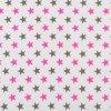 Nebesa na postýlku BABY-TEX růžová hvězda 2020