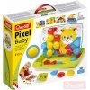 QUERCETTI Hra Baby Pixel Junior mozaika velké kloboučky se stojánkem cestovní