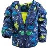 chlapecká jarní/podzimní bunda s potiskem a kapucí, Pidilidi, PD1092, modrá