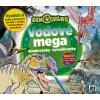 JIRI MODELS Mega omalovánky vodové Dinosauři
