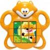 Baby skládačka liška přesouvací puzzle 3v1 na baterie Zvuk pro miminko