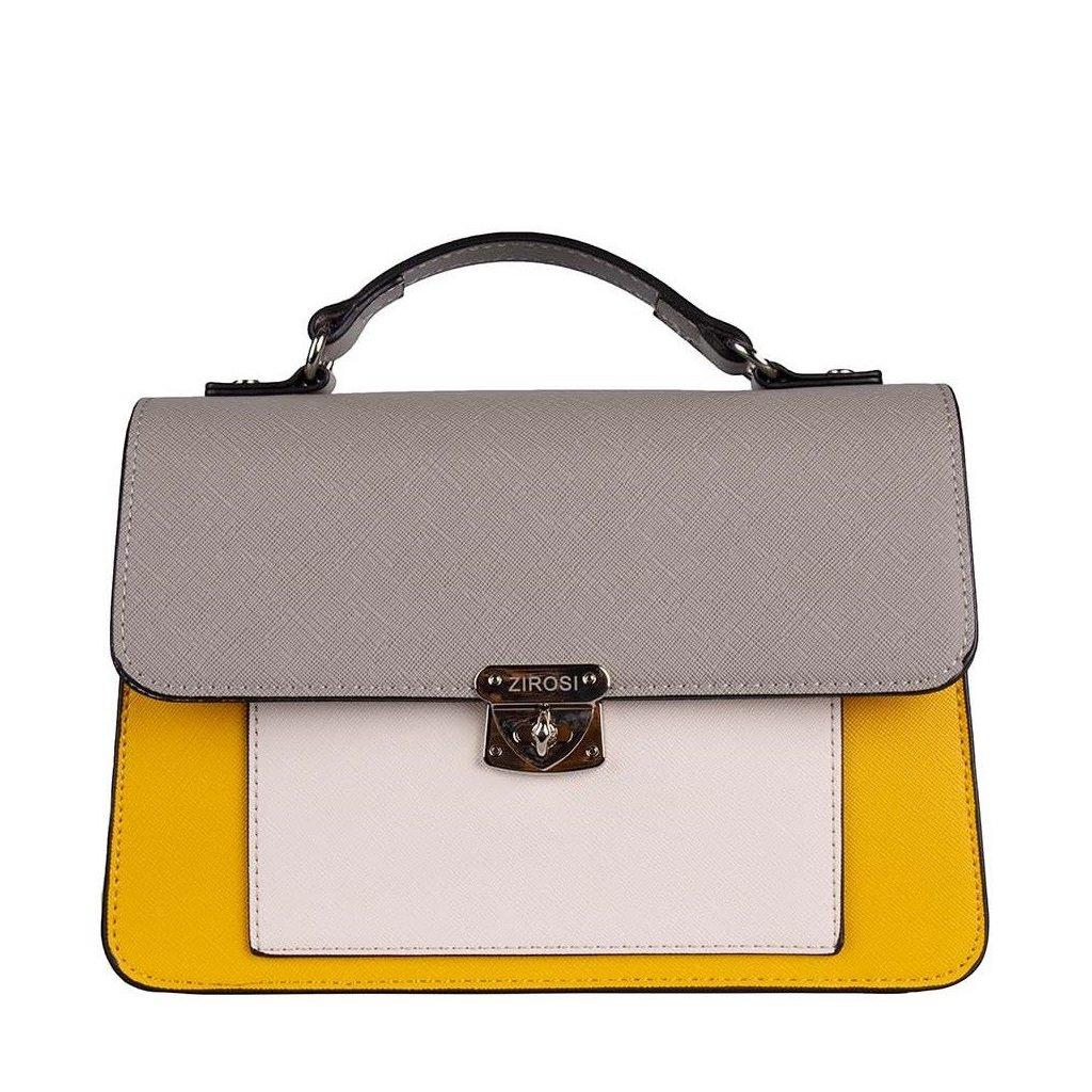 Žluto-šedá kabelka LORINE