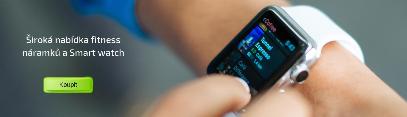 Nabídka smart watch a fitness náramků