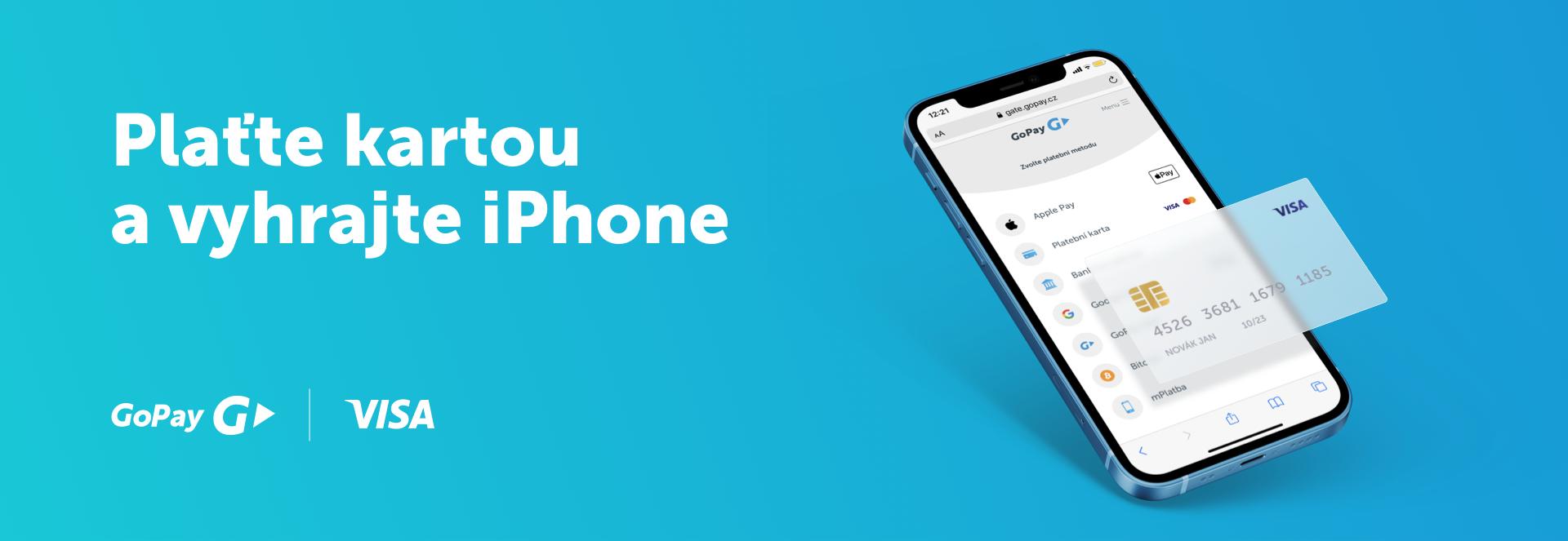 Soutěž GoPay - vyhraj IPhone