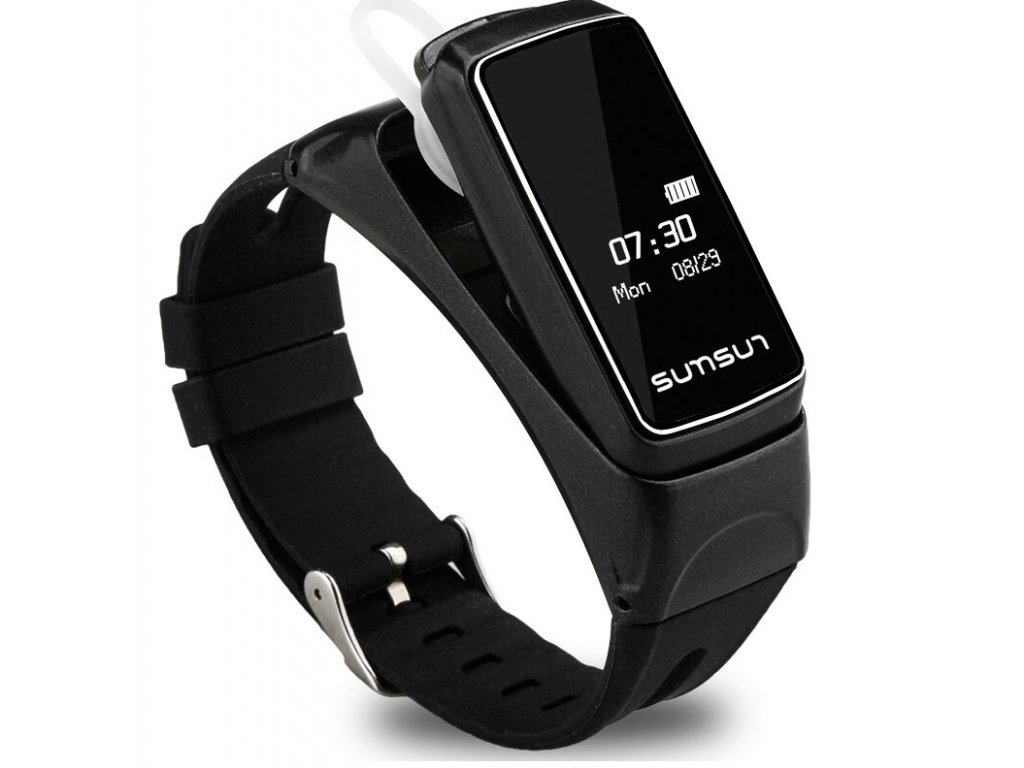 Fitness náramek B7 design bluetooth SMW00008 - smartwatch a fintess ... df9448dde2