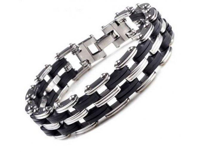 65f9283e6 Náramek z chirurgické oceli řetěz Quattro chain ON20 - Ziskoun.cz