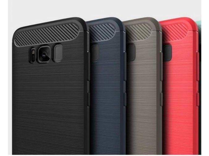 Tenký zadní kryt pro Samsung S8+ PZK7 (Barva Šedá)