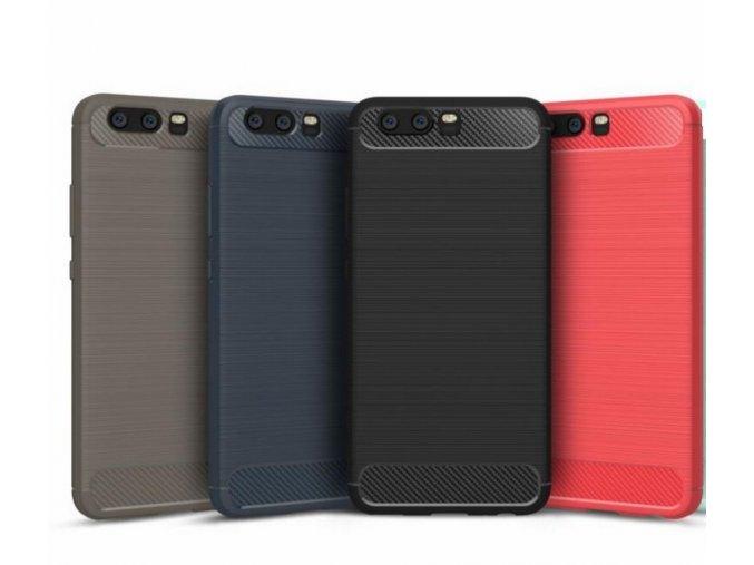 Ochranný zadní kryt pro Huawei P10 PZK57 (Barva Šedá)