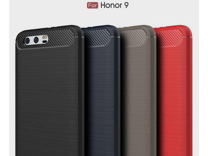 Ochranný zadní kryt pro Honor 9 PZK59 (Barva Šedá)