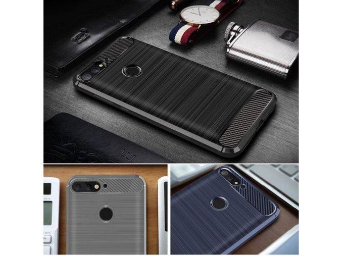 Ochranný zadní kryt pro Huawei Y6 2018 PZK64 (Barva Šedá)