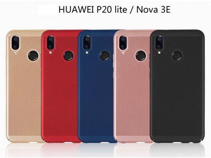 Pevný tenky ochranný kryt pro Huawei Nova 3 PZK84 (Barva Zlatá)