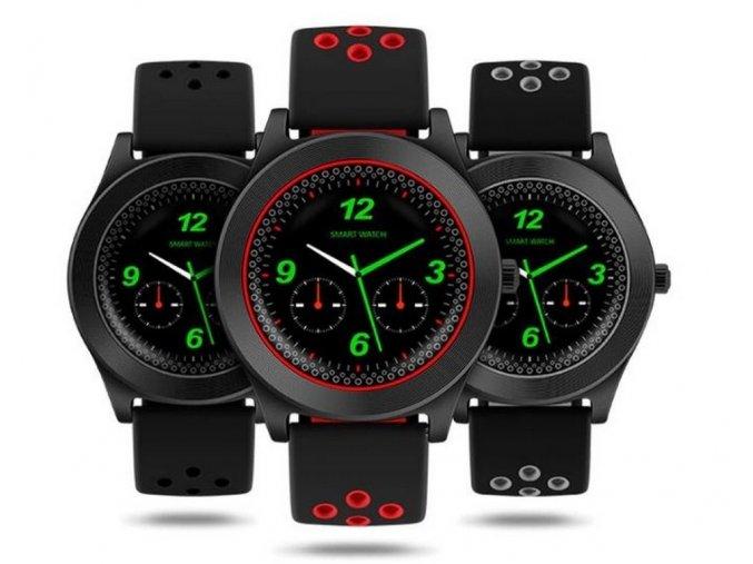 Chytré hodinky TF8  s HD kamerou- 4 barvy SMW41