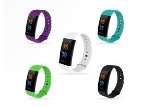 Smart band- fitness náramek I9- 5 barev SMW000019 (Barva Zelená)