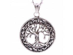Náhrdelník-Strom života z kvalitní chirurgické oceli PN0000140