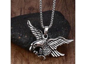 Orlice- náhrdelník z chirurgické oceli PN0000143