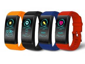 Voděodolný fitness náramek QW18 s barevným displejem- 4 barvy SMW00029