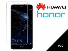 Tvrzené bezpečnostní sklo 9H- bezrámečkové pro Huawei/ Honor P20 TVSK37