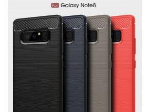 Tenký zadní kryt pro Samsung NOTE 8 PZK8 (Barva Šedá)