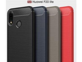 Ochranný zadní kryt pro Huawei P20 Lite PZK56 (Barva Šedá)