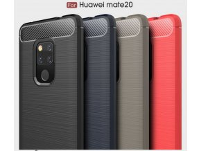 Ochranný zadní kryt pro Huawei Mate 20 PZK62 (Barva Šedá)