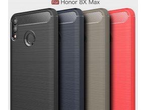 Ochranný zadní kryt pro Honor 8X Max PZK67 (Barva Šedá)