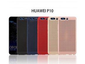 Pevný tenky ochranný kryt pro Huawei P10 PZK80 (Barva Zlatá)
