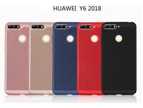 Pevný tenky ochranný kryt pro Huawei Y6 Prime 2018 PZK87 (Barva Zlatá)