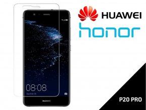 Tvrzené bezpečnostní sklo 9H- bezrámečkové pro Huawei P20 PRO