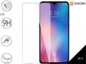 Tvrzené bezrámečkové ochranné sklo 9H pro Xiaomi MI 9 TVSK68