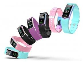 Multibarevný fitness náramek LV08- 3 barvy SMW51