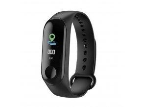 Fitness náramek M3- Smart band s barevným OLED displejem SMW00020 (Barva Růžová- světlá)