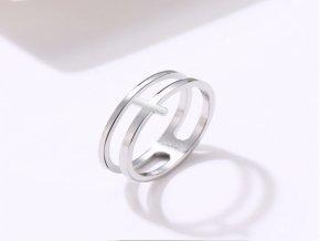 Prsten s křížkem STR (Kopírovat)
