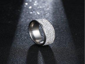 Dámský prsten zdobený zirkony STR (1) (Kopírovat)
