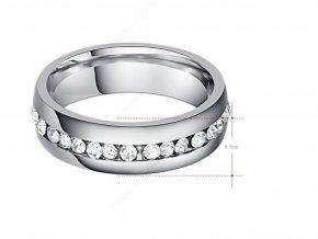 Dámský prsten s řadou zirkonů STR (1) (Kopírovat)