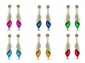 Náušnice Long Drop Earrings- gold CE000038
