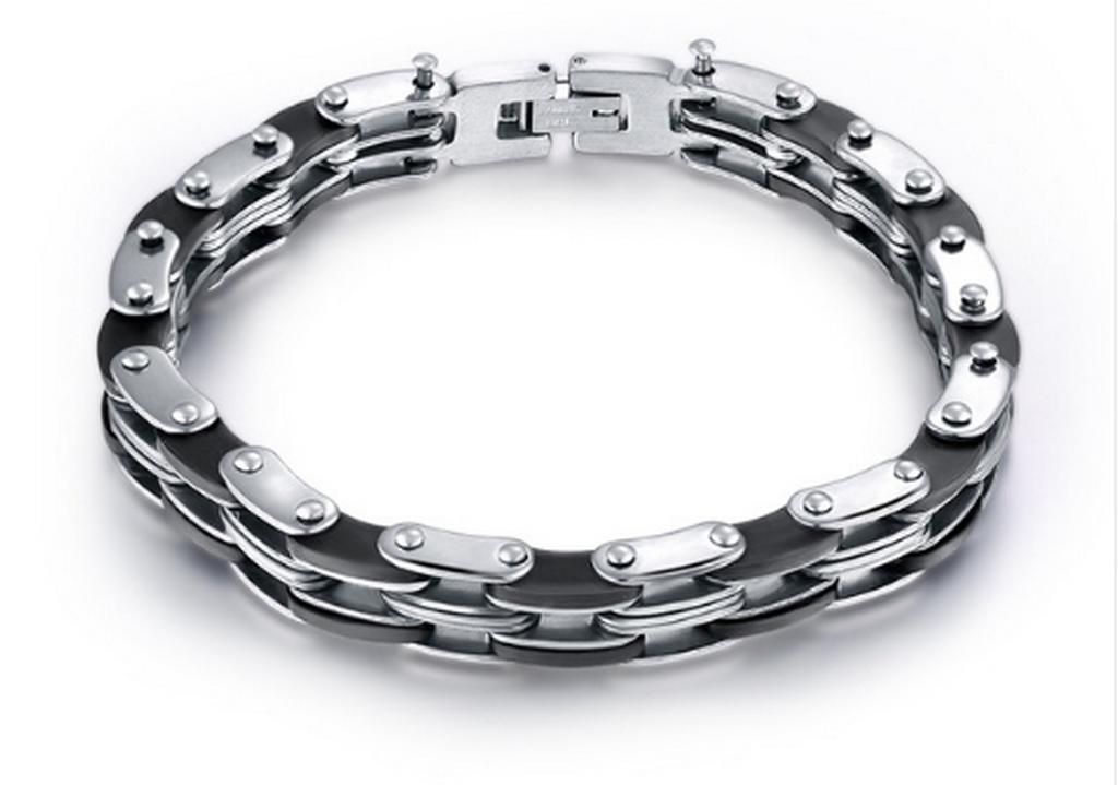 Ziskoun pánský náramek z chirurgické oceli řetěz SSB00003