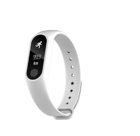 Ziskoun fitness náramek M2 - Bluetooth 4.0 SMW0001 Barva: Bílá