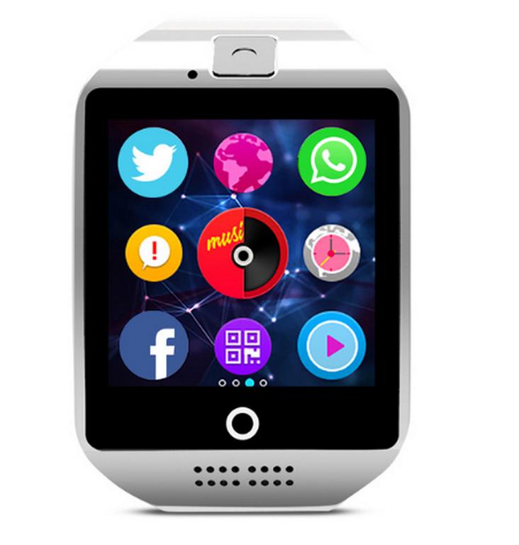 Ziskoun smartwatch Q18 s integrovanou kamerou SMW0003 Barva: Bílá
