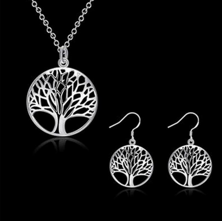 Ziskoun Sada šperků s motivem strom života CS000062