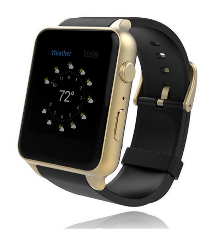 Ziskoun Smart watch GT88+ SMW000012 Barva: Zlatá