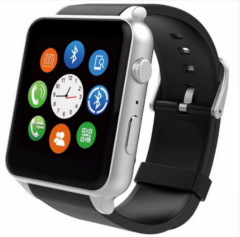 Ziskoun Smart watch GT88+ SMW000012 Barva: Stříbrná