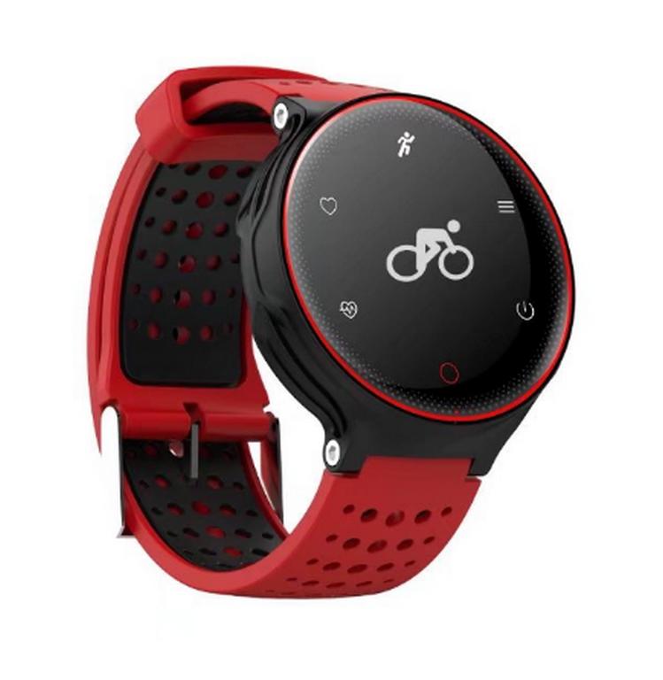 Ziskoun Fitness náramek X2 SMW000014 Barva: Červená