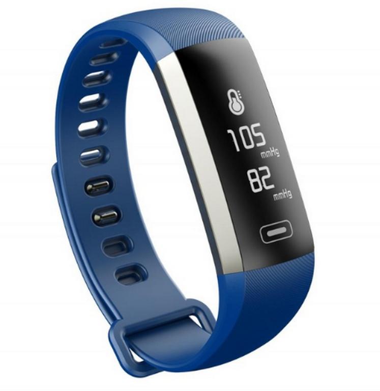 Ziskoun Fitness náramek M2 Plus- 4 barvy SMW000017 Barva: Modrá