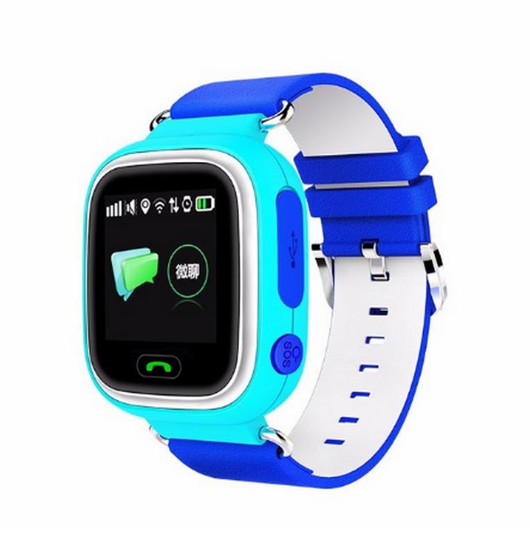 Ziskoun Smart watch hodinky Q90 s GPS a wifi- 3 barvy SMW000024 Barva: Modrá