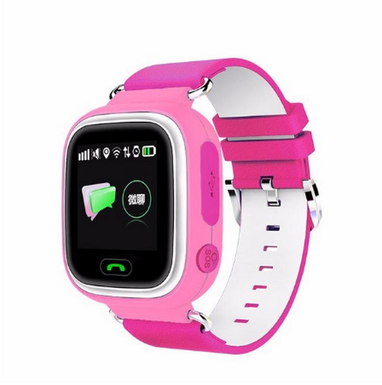Ziskoun Smart watch hodinky Q90 s GPS a wifi- 3 barvy SMW000024 Barva: Růžová