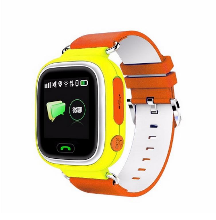 Ziskoun Smart watch hodinky Q90 s GPS a wifi- 3 barvy SMW000024 Barva: Oranžová