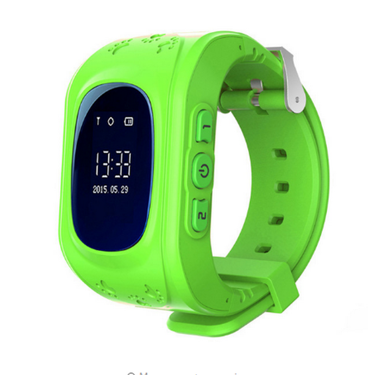 Ziskoun Smart watch hodinky Q5 s GPS- 6 barev SMW00025 Barva: Zelená