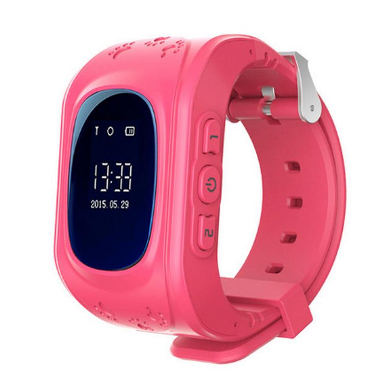 Ziskoun Smart watch hodinky Q5 s GPS- 6 barev SMW00025 Barva: Růžová