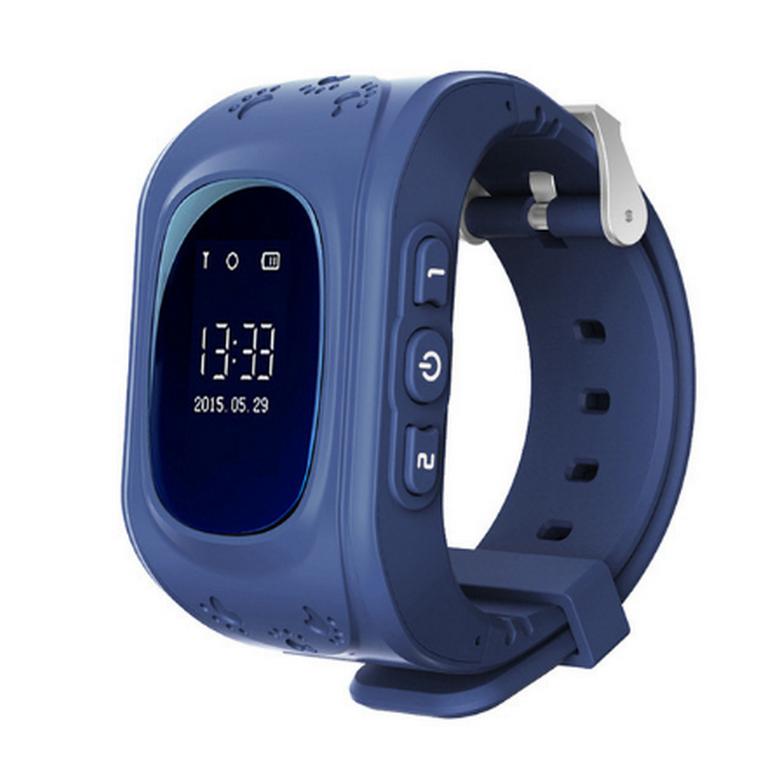 Ziskoun Smart watch hodinky Q5 s GPS- 6 barev SMW00025 Barva: Modrá